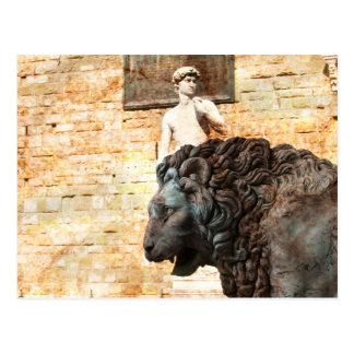 City Lion Postcard