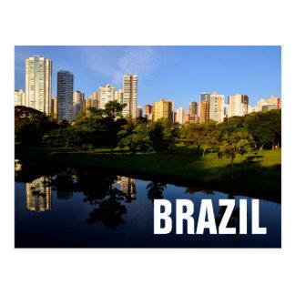 City Londrina Brazil Postcard