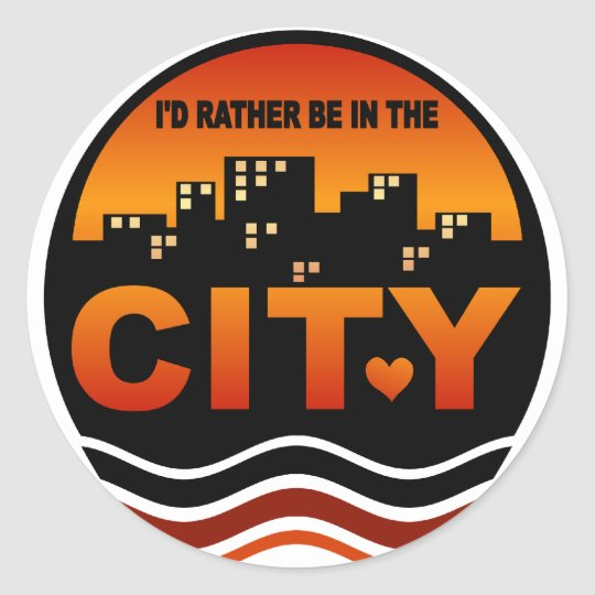 City Lover stickers