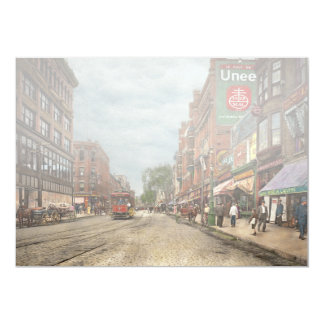 City - Lowell MA - A dam good company 1908 Card