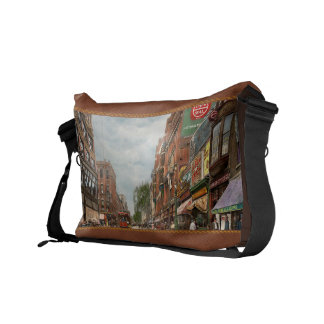 City - Lowell MA - A dam good company 1908 Courier Bag