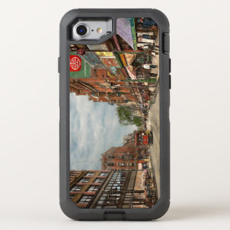 City - Lowell MA - A dam good company 1908 OtterBox Defender iPhone 8/7 Case