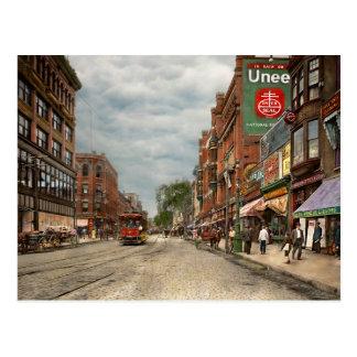 City - Lowell MA - A dam good company 1908 Postcard