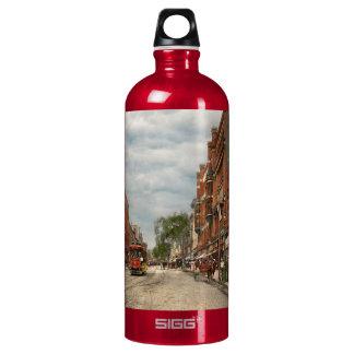 City - Lowell MA - A dam good company 1908 Water Bottle