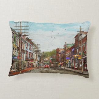 City - MA Gloucester - A little bit of everything Decorative Pillow