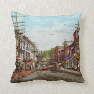 City - MA Gloucester - A little bit of everything Throw Pillow