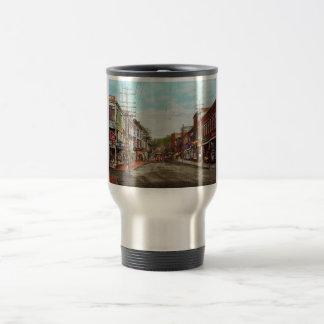 City - MA Gloucester - A little bit of everything Travel Mug