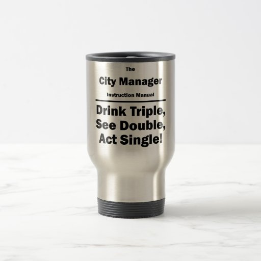 city manager coffee mugs