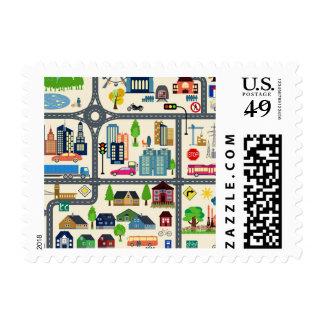City Map Postage