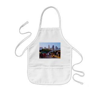 City Market and Downtown Kansas City Skyline Kids' Apron