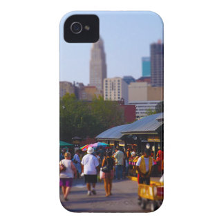City Market and Downtown Kansas City Skyline Case-Mate iPhone 4 Cases