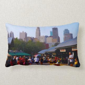 City Market and Downtown Kansas City Skyline Pillows