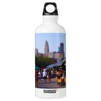 City Market and Downtown Kansas City Skyline Water Bottle