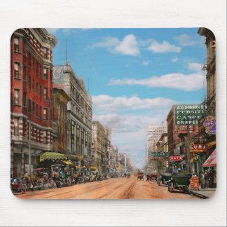 City - Memphis TN - Main Street Mall 1909 Mouse Pad
