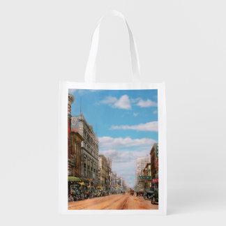 City - Memphis TN - Main Street Mall 1909 Reusable Grocery Bag