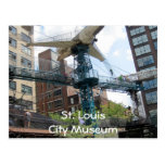City Museum- Airplane, St. LouisCity Museum Postcard