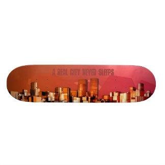 """City Never Sleeps"" Board Skate Board Deck"