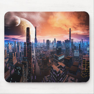 'City Never Sleeps' Mousemat Mouse Pad