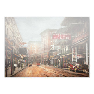 City - New Orleans - A look at St Charles Ave 1910 Card