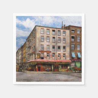City - New York NY - Fraunce's Tavern 1890 Napkin