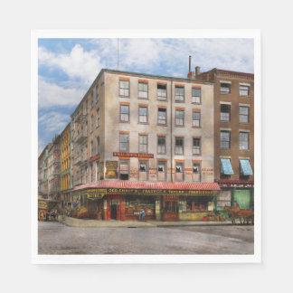 City - New York NY - Fraunce's Tavern 1890 Paper Napkin