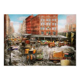 City - New York NY - Stuck in a rut 1920 Card