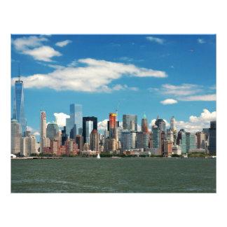 City - New York NY - The New York skyline Flyer