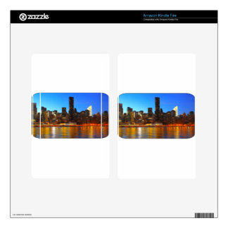 City Night Art Decals For Kindle Fire