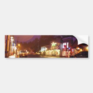 City Night Bumper Sticker