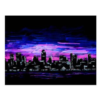 City Night Postcard