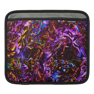 City Nights Abstract Black and Purple Sleeves For iPads