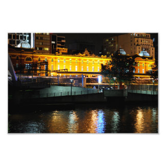 City Nightscape Photo Print