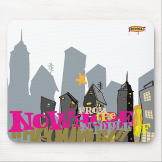 City Nowhere Mouse Pad