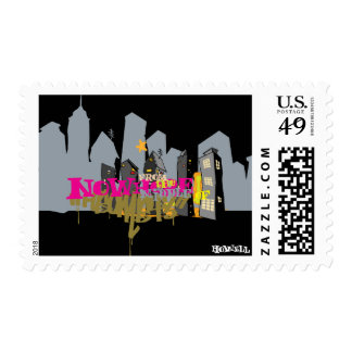 City Nowhere Postage