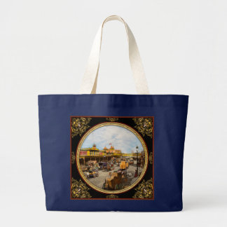 City - NY - A hundred some years ago 1900 Large Tote Bag