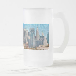 City - NY - A touch of the city Coffee Mugs