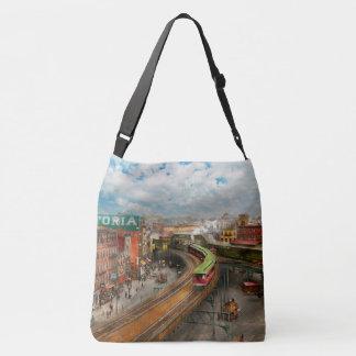 City - NY - Chatham Square 1900 Crossbody Bag