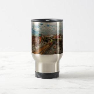 City - NY - Chatham Square 1900 Travel Mug