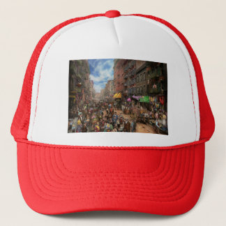 City - NY - Flavors of Italy 1900 Trucker Hat
