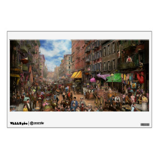 City - NY - Flavors of Italy 1900 Wall Decal