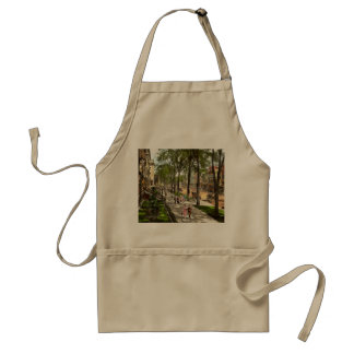 City - NY -  I would love to be on Broadway 1915 Adult Apron