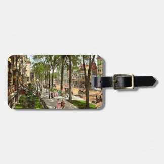 City - NY -  I would love to be on Broadway 1915 Luggage Tag