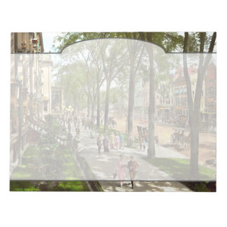 City - NY -  I would love to be on Broadway 1915 Notepad