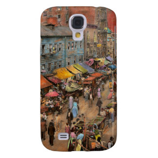 City - NY - Jewish market on the East Side 1890 Galaxy S4 Cover