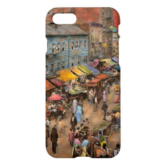 City - NY - Jewish market on the East Side 1890 iPhone 7 Case