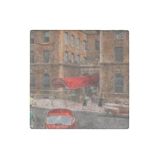 City - NY - Leo Ritter School of Nursing 1947 Stone Magnet