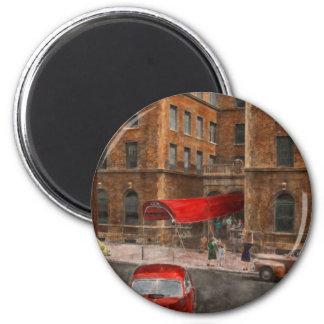 City - NY - Leo Ritter School of Nursing 1947 Fridge Magnets