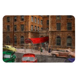 City - NY - Leo Ritter School of Nursing 1947 Vinyl Magnets