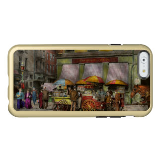 City - NY- Lunch carts on Broadway St NY - 1906 Incipio Feather Shine iPhone 6 Case