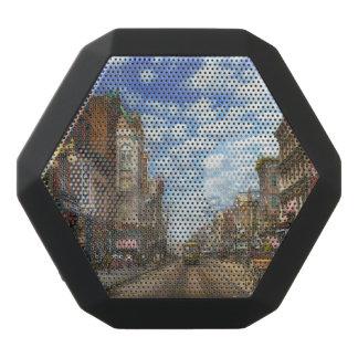 City - NY - Main Street. Poughkeepsie, NY - 1906 Black Bluetooth Speaker